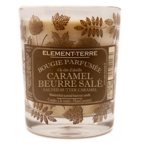 Bougie Caramel beurre salé 200g