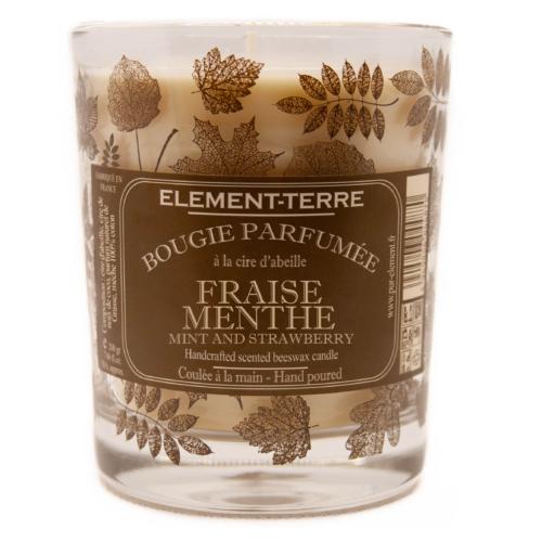Bougie Fraise Menthe 200g