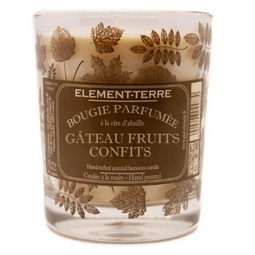 Bougie Gâteau Fruits Confits 200g