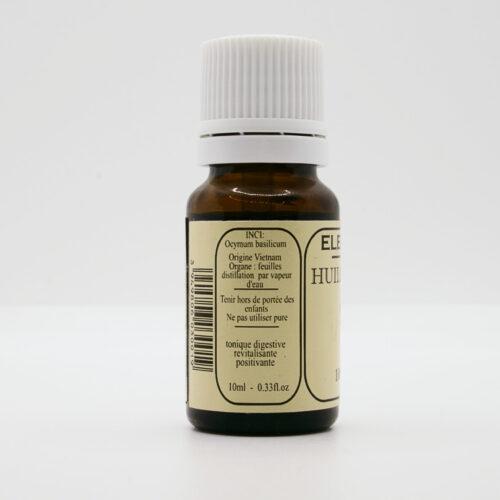 Huiles essentielles pures - Basilic