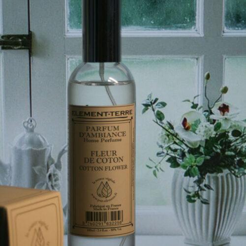 Parfum d'ambiance Fleur de Coton 100ml en spray