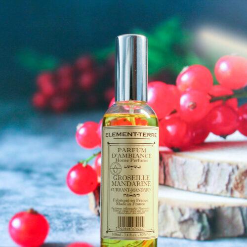 Parfum d'ambiance Groseille Mandarine 100ml en spray